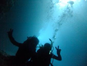 ダイビングin沖縄